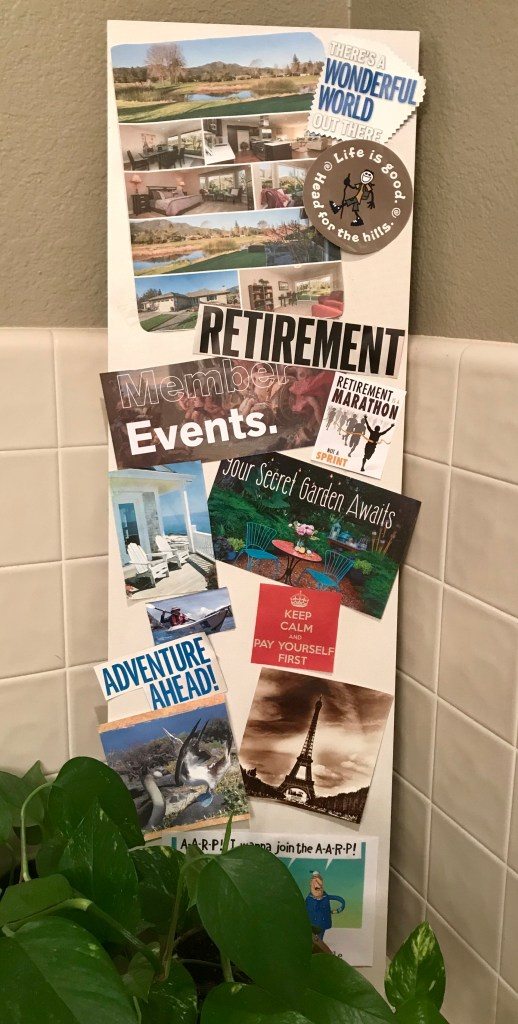 Creating a Retirement Vision Board