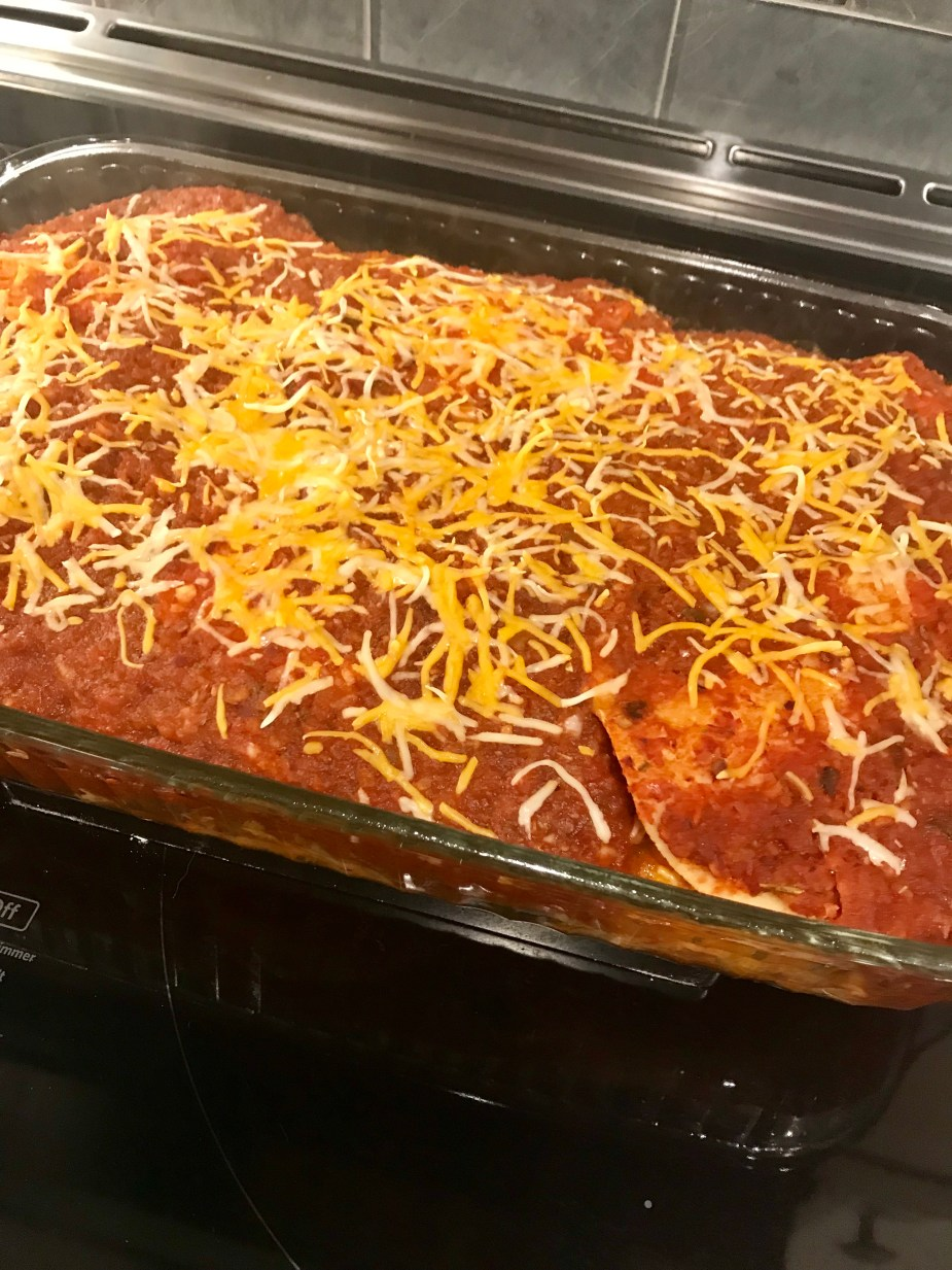 Chicken Enchilada Casserole - A WW Freestyle Dinner