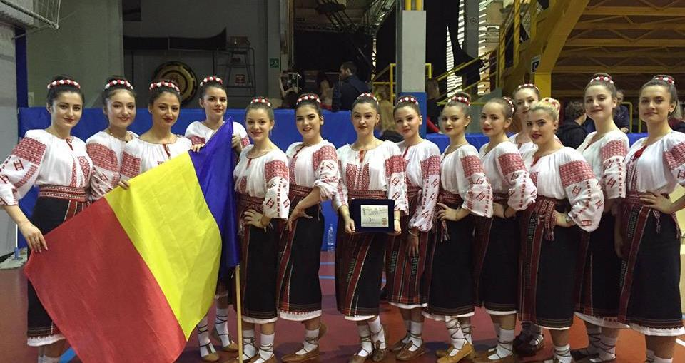 Romanian female dance group wins 3rd place at World Dance Trophy in