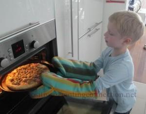 pizzainovenpreschooler