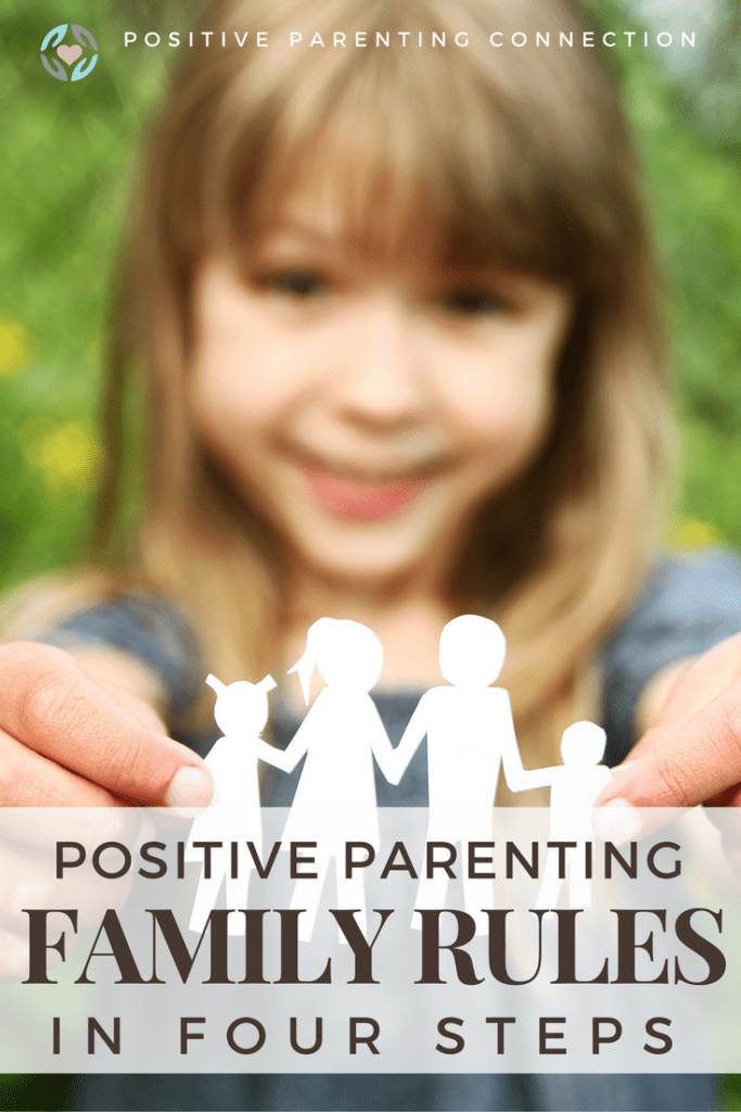 making rules with a family using positive parenting