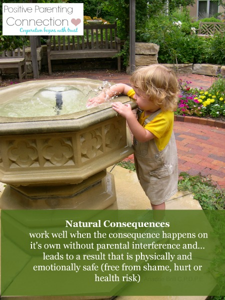 Are Natural Consequences A Good Discipline Choice?