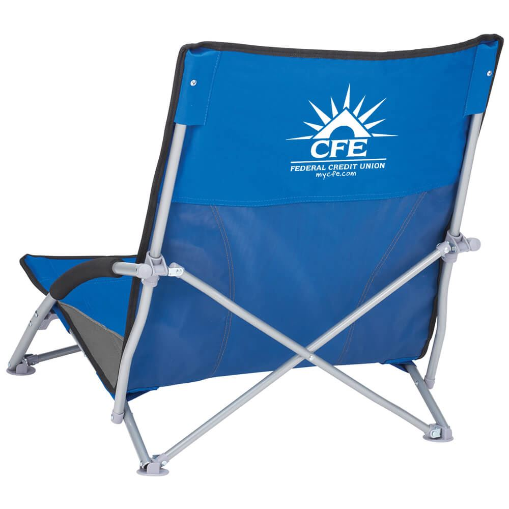 Low Beach Chair Low Sling Beach Chair Personalization Available
