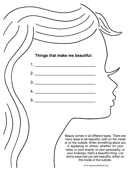 18 Selfesteem Worksheets And Activities For Teens And Adults (+pdfs