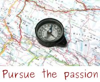 Pursue the passion at work