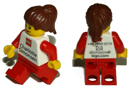 LEGO business card