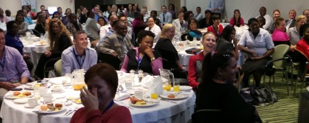 Speaking in Cape Town
