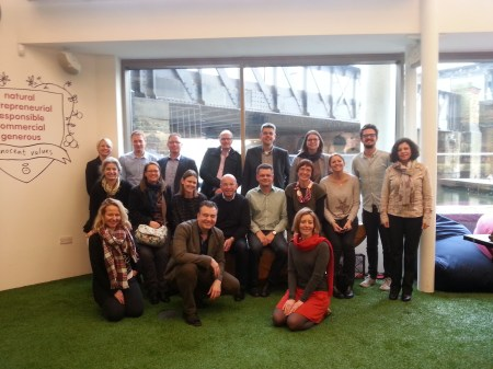 Danish leaders visit Innocent Drinks