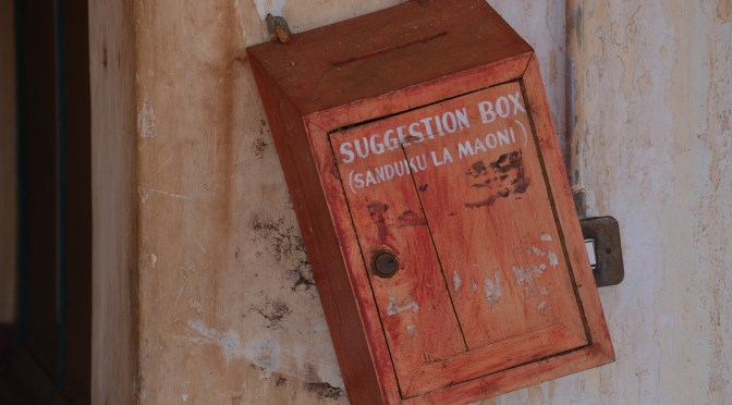 Kill the suggestion box – there's a much better way