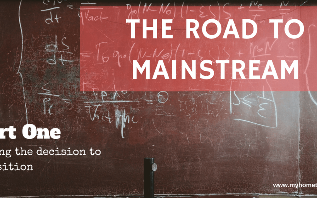 The Road to Mainstream – Part 1