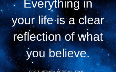 We live our life based on what we believe.