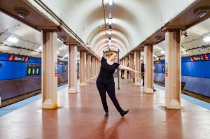 Tap dance on the CTA