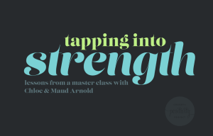 tapping into strength