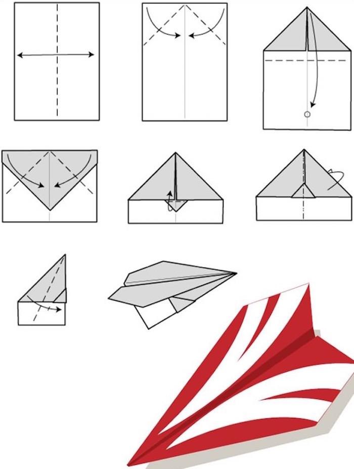 Record Du Monde Avion En Papier : record, monde, avion, papier, Comment, Faire, Avion, Papier, Pliages