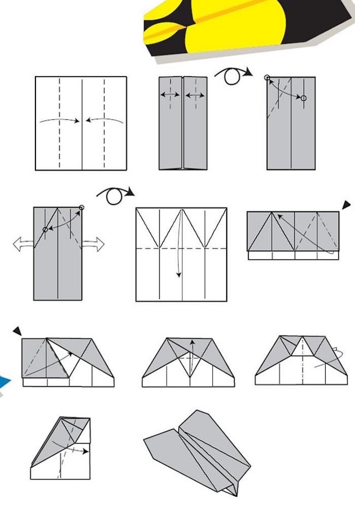 Comment Faire Des Avions En Papier : comment, faire, avions, papier, Comment, Faire, Avion, Papier, Pliages