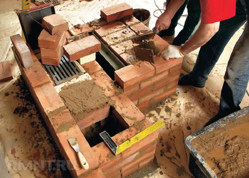 Brick oven for home with your own hands