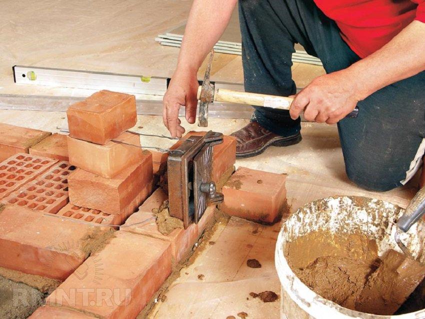 Ziegelsteinofen für Zuhause mit deinen eigenen Händen