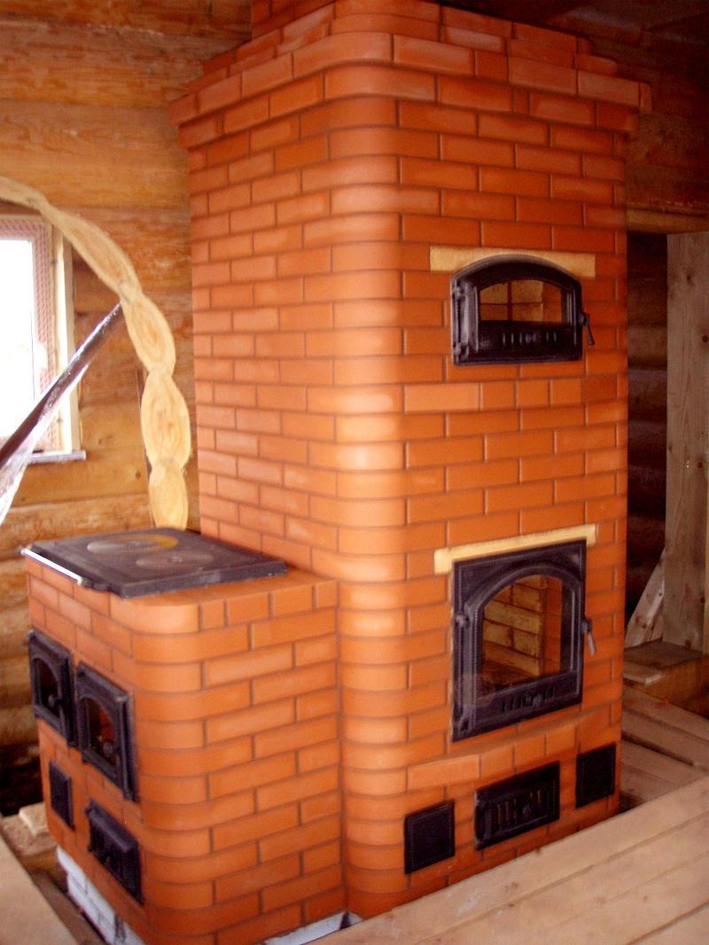 家のためのレンガのオーブン(115写真):あなた自身の手でインストールするための指示、ストーブの絵