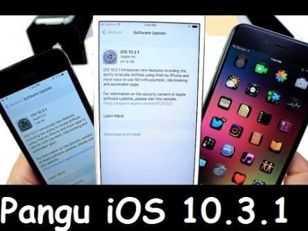 Pangu iOS 10.3.1