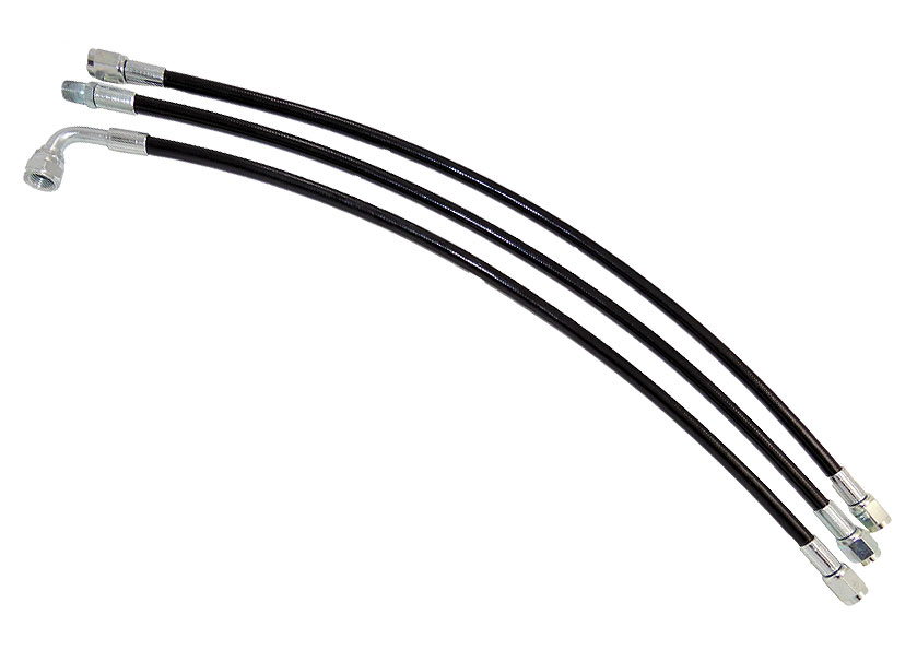 Coated 4AN Brake Line With 1/8