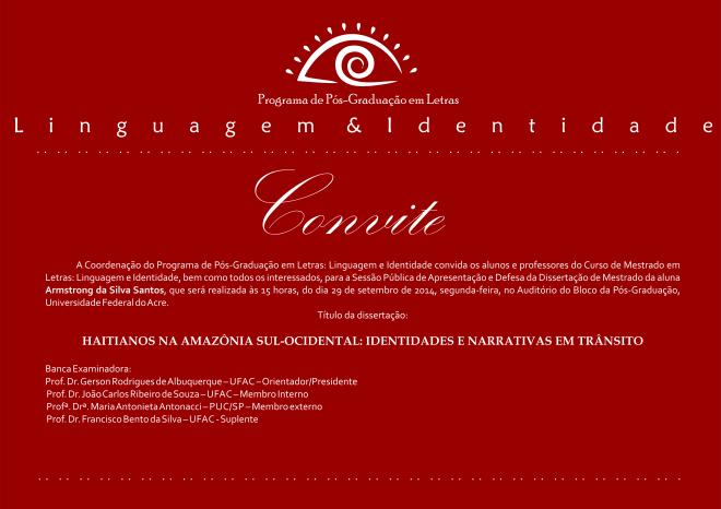 Convite Armstrong