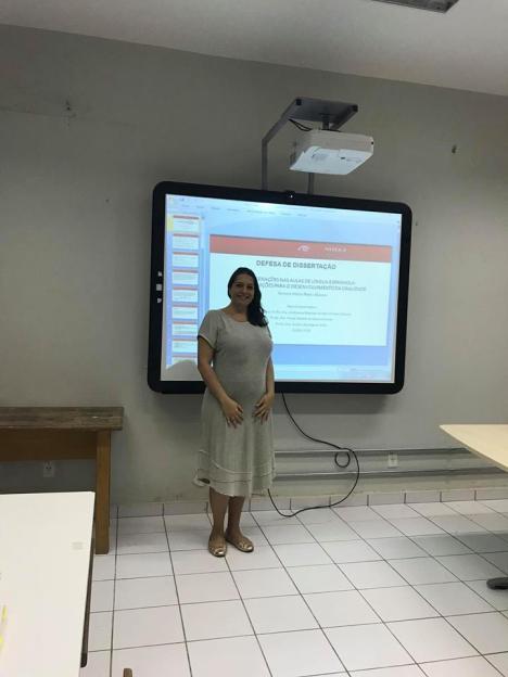 2018 - Defesa de dissertação de Simone Vieira Nieto Blanco