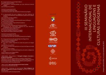 III Seminário folder frente