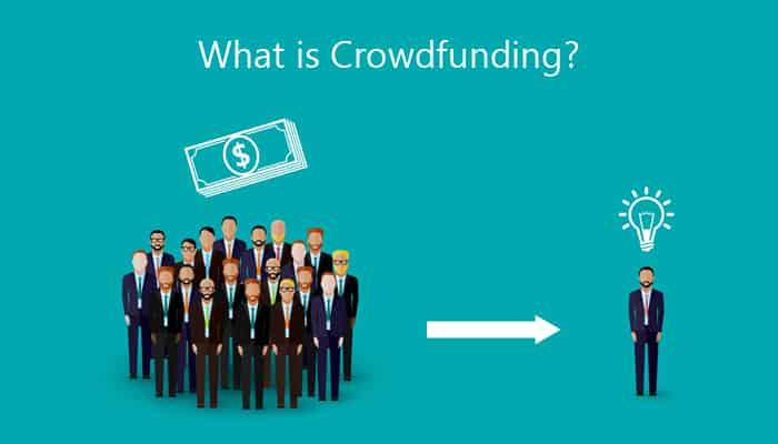 Crowdfunding platforme
