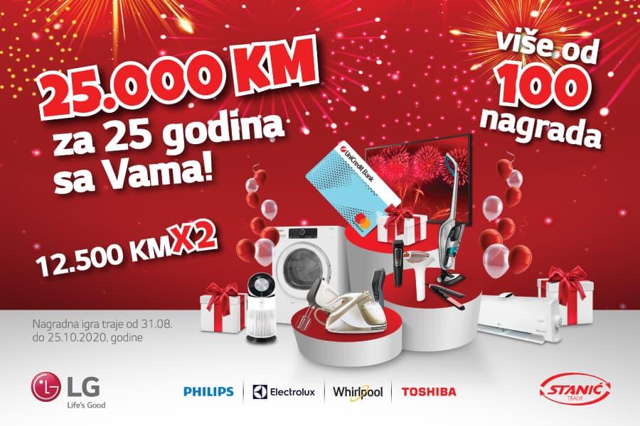 Stanic Trade 25 Godina Sa Vama Nagradna Igra 900x600