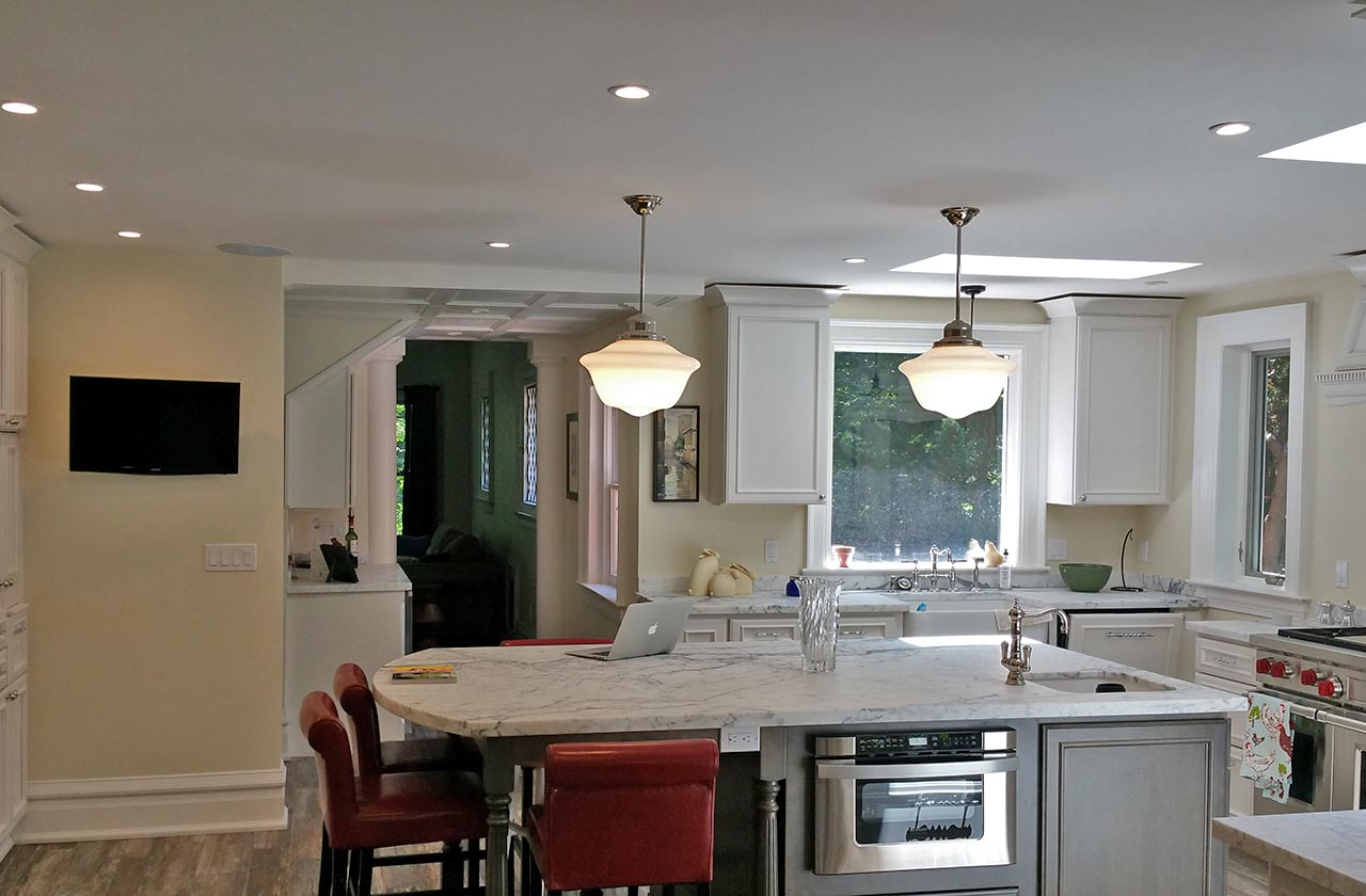 hight resolution of kitchen electrical