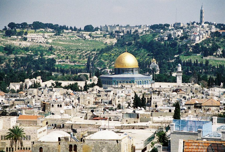Jerusalem looking down