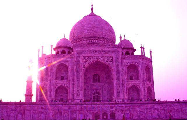 Pink Taj Mahal