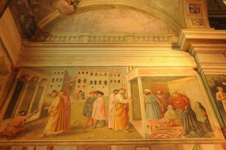 Saint Peter Healing the Cripple - Raising Tabitha - Masolino