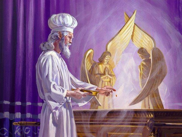 Tabernacle Priest befoe\