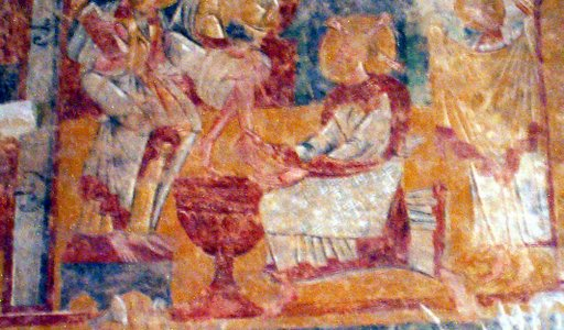 Chalivoy Milon - Christ Washes Peters Feet