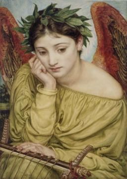 Erato, muse of lyric poetry.