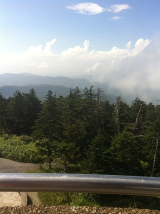 On top of Clingman's Dome