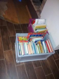 Bücherkisten - aussortiert