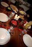 Abendessen - für die Gäste