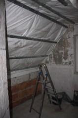 Baustelle Nr.2 - Badezimmer, verwaist wegen Magen-Darm der Handwerker