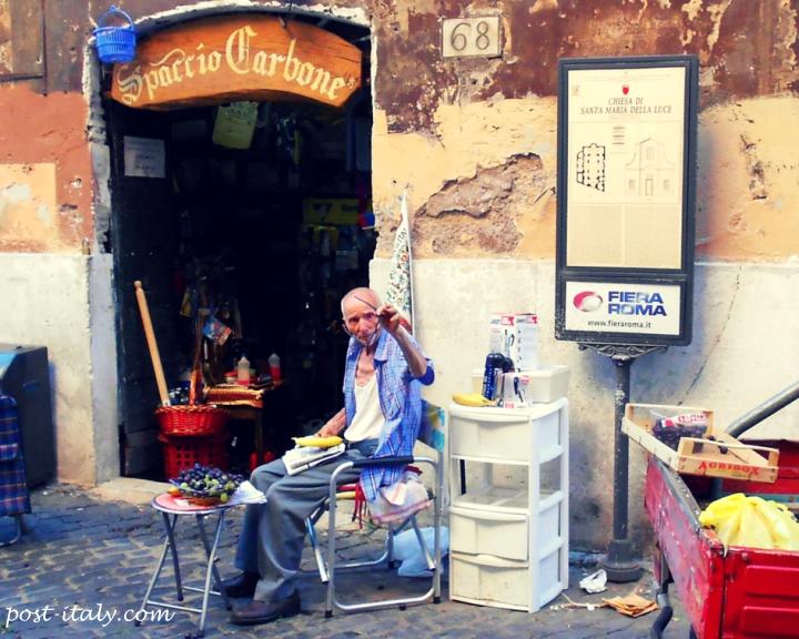 loja em Trastevere