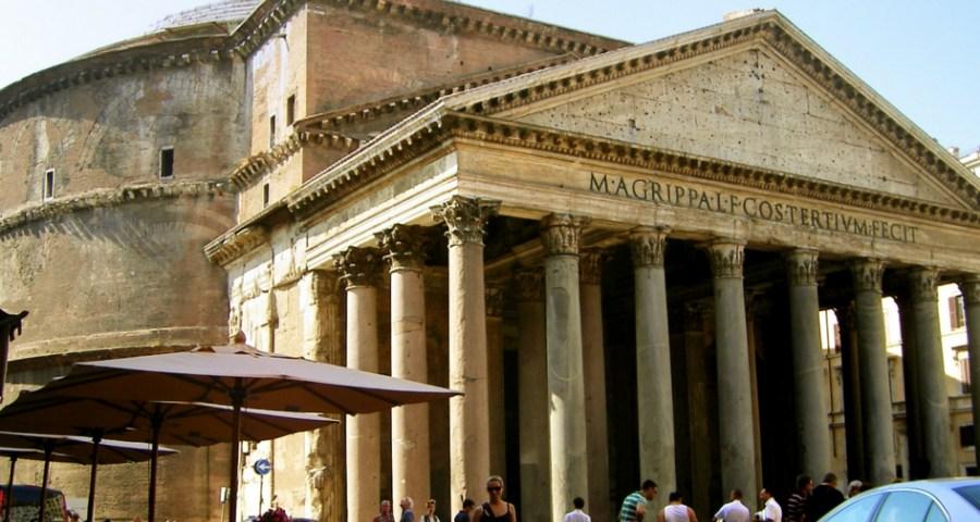 Passeando pelo Pantheon em Roma c554b47607084