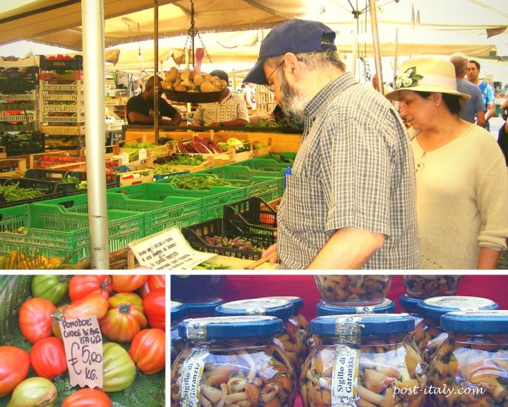 mercado de campo de fiori