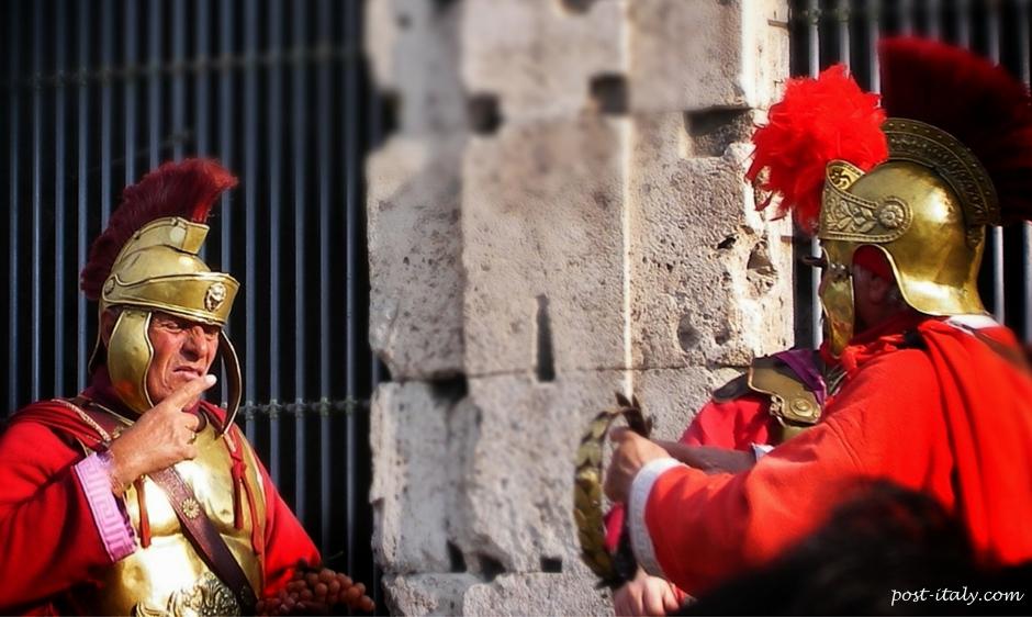 páscoa na cidade de Roma