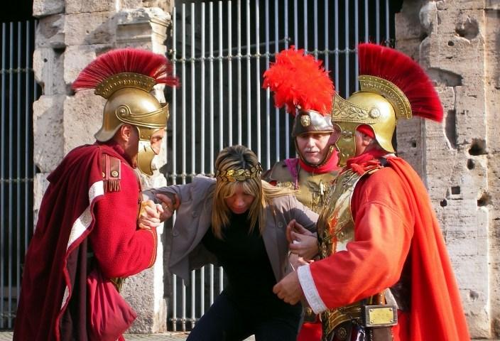 gladiadores em Roma