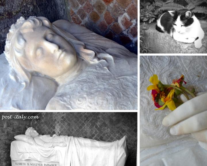 cemitério não católico em Roma