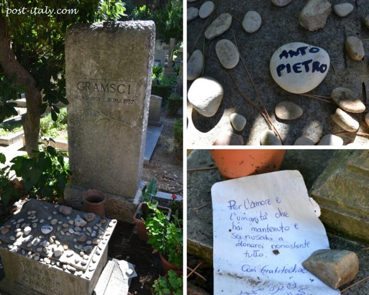 túmulo de Antonio Gramsci