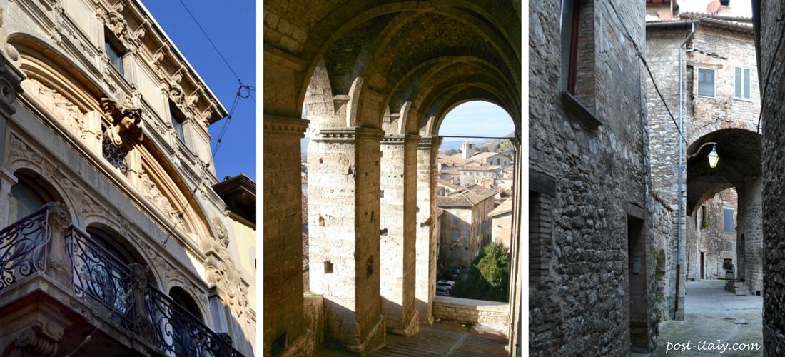 cidade de Gubbio, Itália