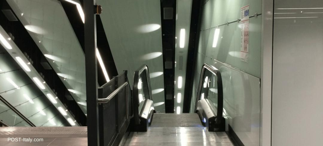estação de metrô, Roma