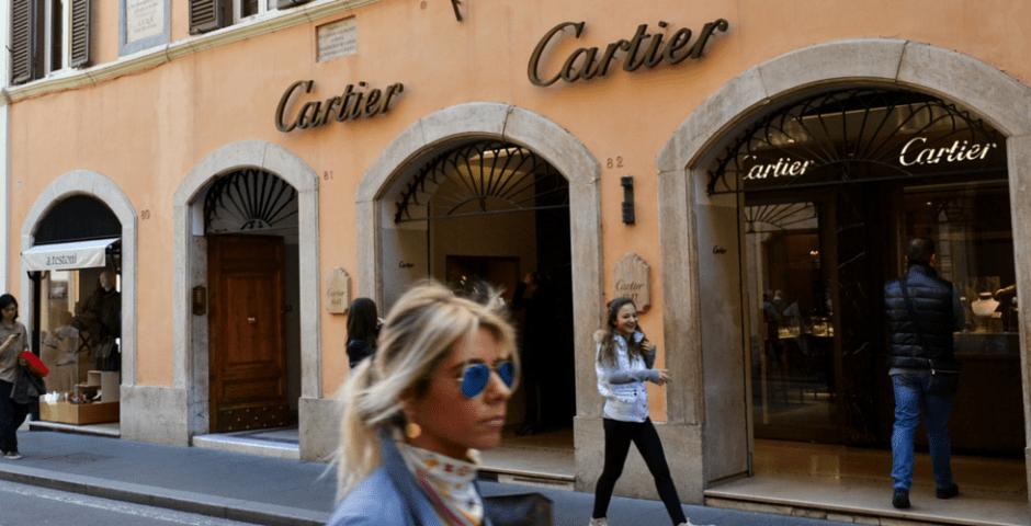 ruas para compras em Roma